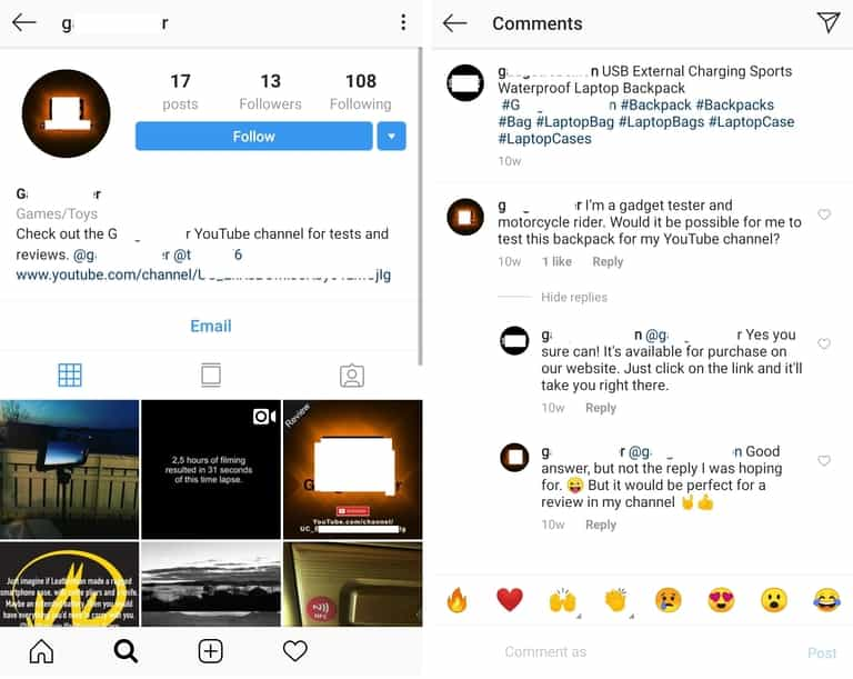 Get Free Instagram Likes 20 Likes Everyday Socialproof Instagram Free Business Account
