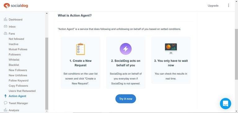 SocialDog Action Agent