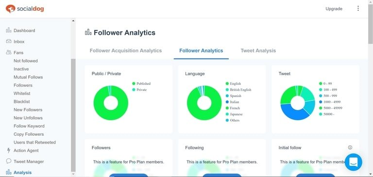 SocialDog Follower Analysis
